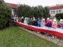Przedszkolaki odwiedzają miejsca pamięci narodowej