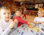 Wesole zabawy w przedszkolu